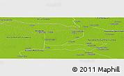 Physical Panoramic Map of Autonomo Biruaca