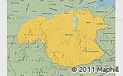 Savanna Style Map of Bolivar