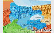 Political Shades 3D Map of Carabobo
