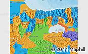 Political Map of Carabobo
