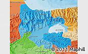 Political Shades Map of Carabobo