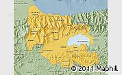Savanna Style Map of Carabobo