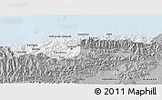 Gray 3D Map of Distrito Federal