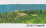 Satellite 3D Map of Distrito Federal