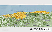 Savanna Style 3D Map of Distrito Federal