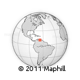 Outline Map of Vargas