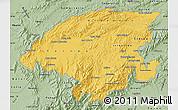 Savanna Style Map of Lara