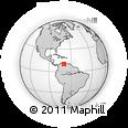 Outline Map of Lara