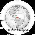Outline Map of Baruta