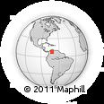 Outline Map of Tachira