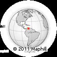 Outline Map of Bocono