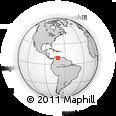 Outline Map of Escuque