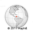 Outline Map of Rafael Rangel