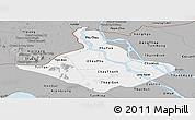 Gray Panoramic Map of An Giang