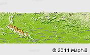 Physical Panoramic Map of Dong Hi