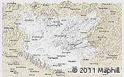 Classic Style Panoramic Map of Bac Thai