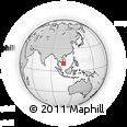 Outline Map of Ben Tre