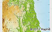 Physical Map of Hoai An