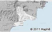 Gray 3D Map of Tuy Phong