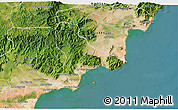 Satellite 3D Map of Tuy Phong