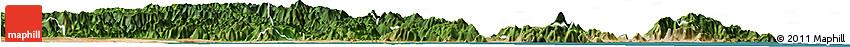 Satellite Horizon Map of Tuy Phong