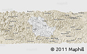 Classic Style Panoramic Map of Ba Be