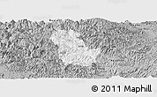 Gray Panoramic Map of Ba Be