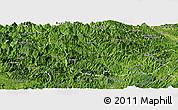 Satellite Panoramic Map of Ba Be