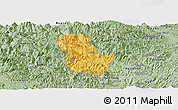Savanna Style Panoramic Map of Ba Be