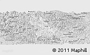 Silver Style Panoramic Map of Ba Be
