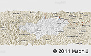 Classic Style Panoramic Map of Bao Lac