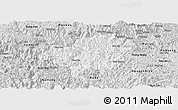 Silver Style Panoramic Map of Bao Lac