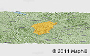 Savanna Style Panoramic Map of Ha Lang
