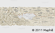 Classic Style Panoramic Map of Ha Quang