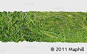 Satellite Panoramic Map of Ha Quang