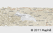 Classic Style Panoramic Map of Hoa An