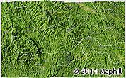 Satellite 3D Map of Ngan Son