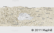 Classic Style Panoramic Map of Ngan Son