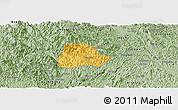 Savanna Style Panoramic Map of Ngan Son