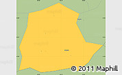 Savanna Style Simple Map of Ngan Son