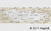 Classic Style Panoramic Map of Cao Bang