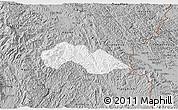 Gray 3D Map of Thach An