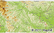 Physical 3D Map of Thach An
