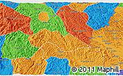 Political 3D Map of Thach An