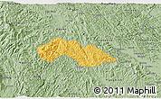 Savanna Style 3D Map of Thach An