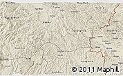 Shaded Relief 3D Map of Thach An