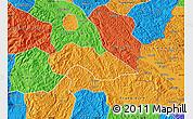 Political Map of Thach An