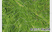 Satellite Map of Thach An