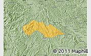 Savanna Style Map of Thach An