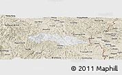 Classic Style Panoramic Map of Thach An